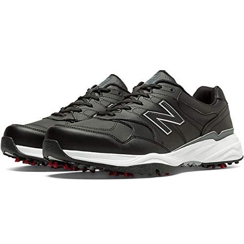 New Balance Mens Nbg1701 Golf Shoe Black 2E 10