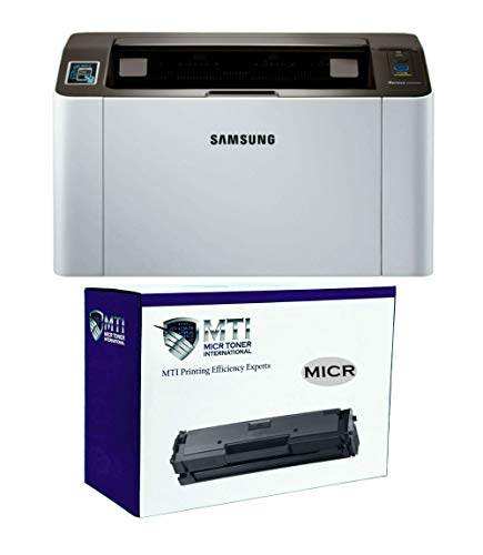 MICR Toner International Xpress M2020w Laser Check Printer Bundle with...