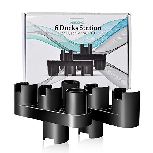 KEEPOW 2x Halterung für dyson-staubsauger ersatzteile, Zubehörhalter für Dyson V11, V10, V8, V7 Handstaubsauger