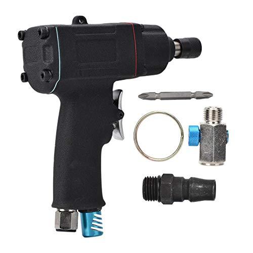 AT-31010 10H 1/4 Destornillador de aire pistola industrial neumático reversible destornillador cuerpo compuesto mango suave para la fijación desmontaje de tornillos