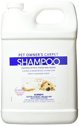 Kirby 237507 1gal. Regular Shampoo Pet Stain & Odor Remover-Carpet & Rug Shampoo & Odor Eliminator, Smell Neutralizer Solution & Detergent-Dog & Cat Urine Cleaner, 32oz, 1