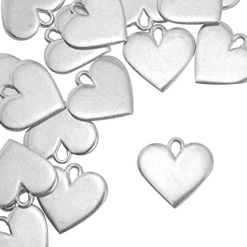 ImpressArt Artisan Heart Max 46% OFF Stamping Louisville-Jefferson County Mall Blanks Pewter 24