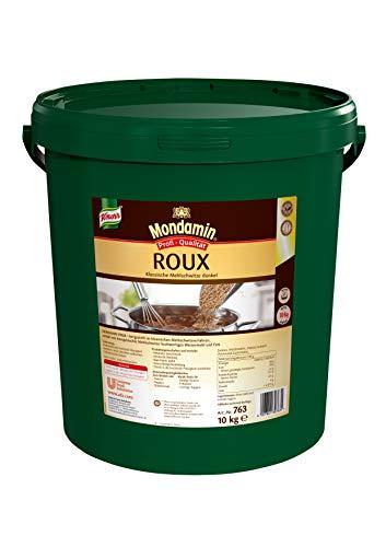 Mondamin Roux klassische Mehlschwitze dunkel (Granulat für sofortige Bindung, ohne Klumpen) 1er Pack (1 x 10 kg)