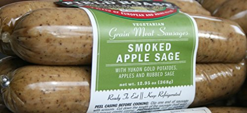 Field Roast Smoked Apple Sage Sausage 13 Oz (4 Pack)