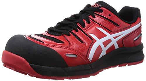 [アシックス] 安全靴 作業靴 ウィンジョブ CP103 レッド/ホワイト 26.5 cm 3E