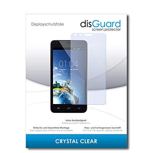 disGuard Displayschutzfolie für Kazam Trooper 2 5.0 [2 Stück] Crystal Clear, Kristall-klar, Unsichtbar, Extrem Kratzfest - Displayschutz, Schutzfolie, Glasfolie, Panzerfolie