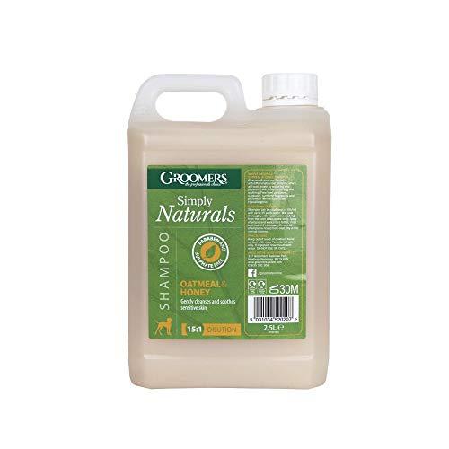 Groomers Shampoo für Haustiere Hafermehl / Honig 2,5 Liter