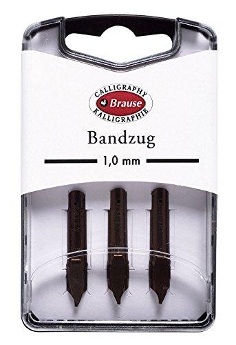 Brause 1mm Bandzug Feder (Pack von 3)