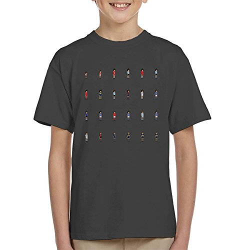 Maradona Cuadro Picture Pixel Kid's T-Shirt