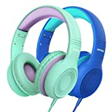 Mpow CH6 Kids Headphones, Volume Limited Over Ear Kids Headset with 3.5mm Audio