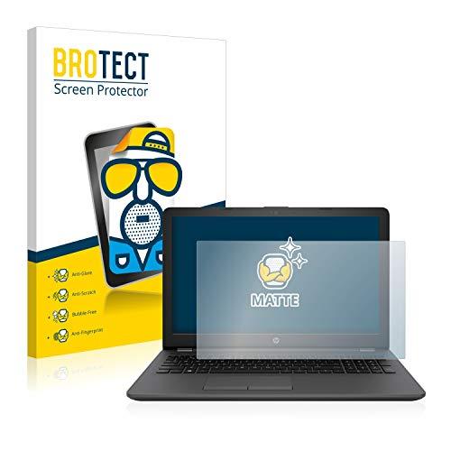 BROTECT Entspiegelungs-Schutzfolie kompatibel mit HP 250 G6 Bildschirmschutz-Folie Matt, Anti-Reflex, Anti-Fingerprint