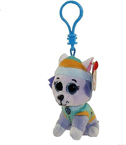 T Y Ty Paw Patrol EVEREST Husky dog clip product image
