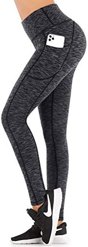 IUGA Fleece Lined Yoga Pants with Pockets for Women High Waisted Thermal Leggings with Pockets product image