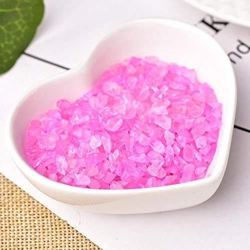 50G/100G Natural Rose Quartz White Crystal Rock Mineral Specimen Healing Can Be Used For Aquarium Stone Home Decoration Crafts,Rose Quartz,100G