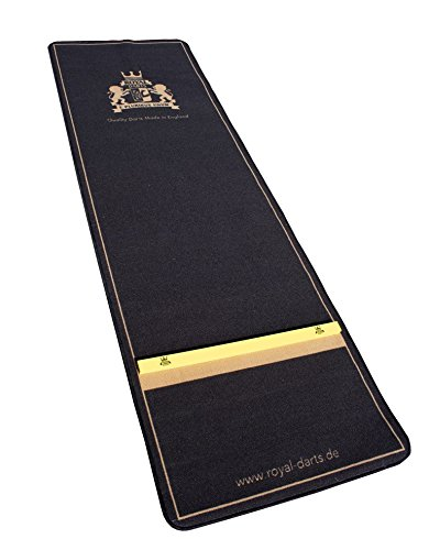 Royal Darts Dartteppich Emperor XL 300 x 100 cm Dartmatte mit Oche