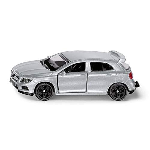 SIKU 1503, Mercedes-Benz GLA 45 AMG, Metall/Kunststoff, Silber, Spielzeugauto für Kinder, Öffenbare Türen, Anhängerkupplung
