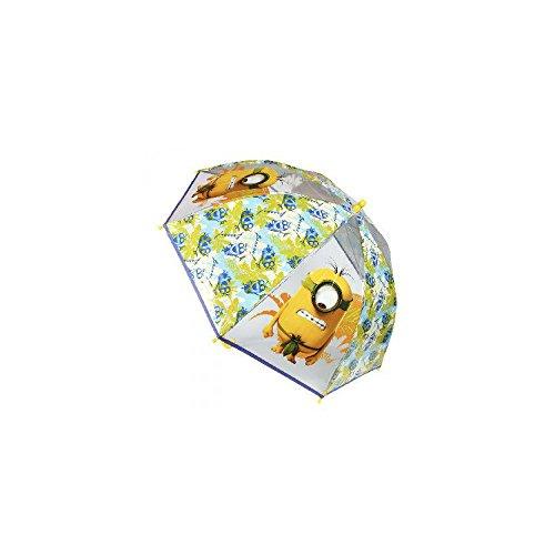 Paraguas manual poe transparente burbuja 45cm de Minions
