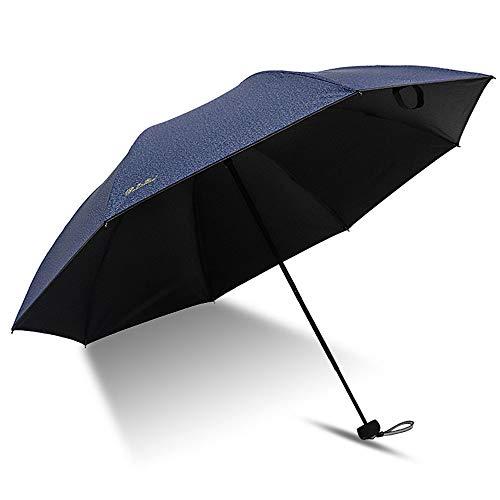 Big seller Regenschirme Sonnenschutzschirm-Taschenschirm für Männer und Frauen (Farbe : Blau)