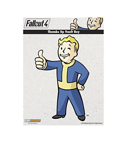 FanWraps Fallout 4 Thumbs-Up Vault Boy Mini PVC Decal