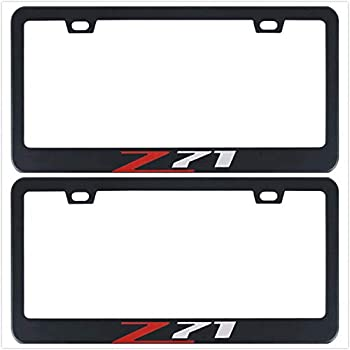 Chevrolet Camaro Script Chrome Plated Metal License Plate Frame Holder Baronlfi
