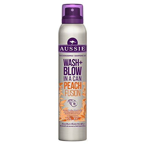Aussie Wash+ Blow Peach Fusion Trockenshampoo 2er Pack (2 x 180 ml)