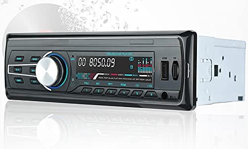QQ HAO Radio Car MP3 Player, Automotivo 12V Bluetooth AUTORADIO Audio Auto Stereo FM USB AUX MP3 Radios De Tarjeta SD
