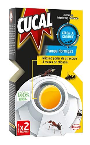 Cucal Insecticida Trampa Hormigas 2 Trampas