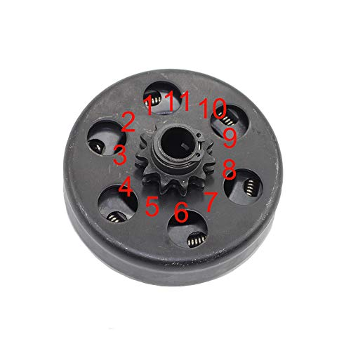 """Parts Club Heavy Duty Clutch Assembly with 5/8"""" Bore #35 Chain 11 Tooth for Mini Bike Go Kart"""
