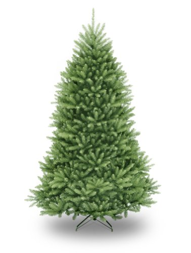National Tree Company​ Artificial Christmas Tree Includes Stand Dunhill Fir, 7.5', Green