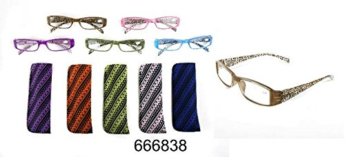 MT 666838 leesbril RETRO beugel kleur design leeshulp