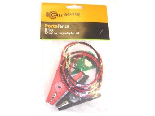 Gallagher B10 Porta Zaun 12 Volt Adapter
