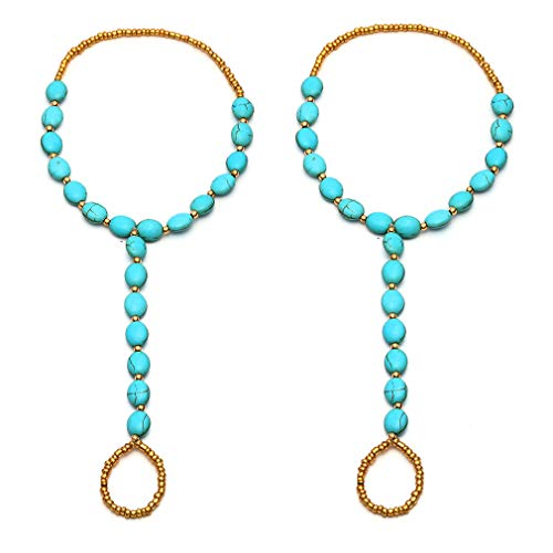 crochet feet jewelry - 5