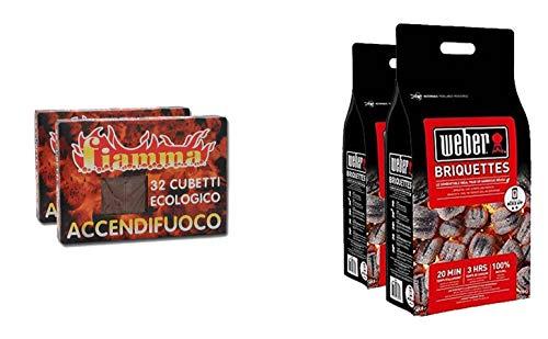 Fuocobello Kit Accendi-Barbecue Perfetto: 16kg di...