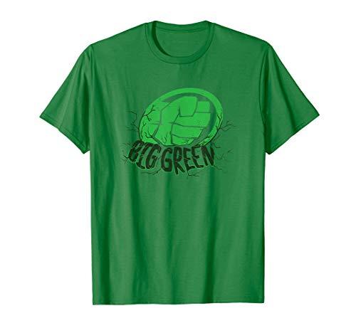 Marvel Avengers: Endgame Hulk Smash Big Green T-Shirt