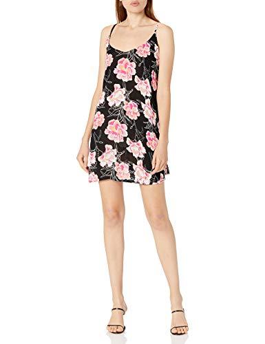 Roxy Erjx603188 Be in Love Robe de plage à bretelles pour femme - Noir - Taille S