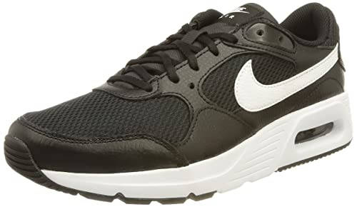 Nike Air MAX SC, Zapatillas para Correr, Black White Black, 42 EU