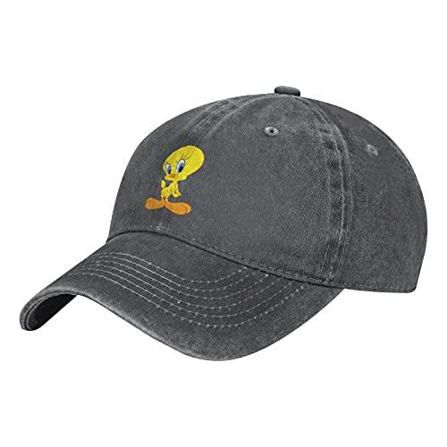 Facecho Tweety Bird Unisex Herren Damen Verstellbare Mütze Baseball Cap Hut Outdoor Kappe Baseballmütze