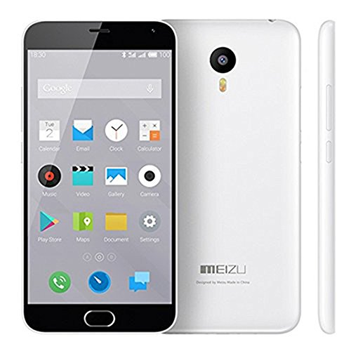 Meizu m2 cuenta Smartphone 4G 64bit MTK6753 Octa Core 5.5 pulgadas FHD 2GB 16GB (Blanco)