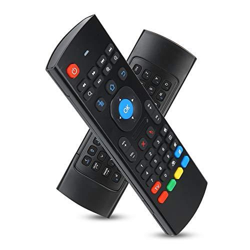 Bluetooth Remote Air Fly Mouse, Teclado inalámbrico de Control Remoto inalámbrico 2.4G, Control Remoto infrarrojo para PC con TV