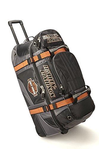 Harley Davidson 33' Wheeled Equipment Duffel, Black