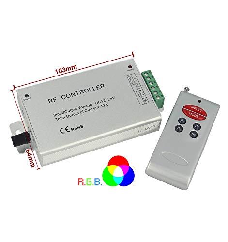 Steuergerät Rf Audio Controller Strip Led RGB Schaltung Farbe A Rhythmus Musik Dc5v 12 V 24 V Frequenz 433 mhz Fernbedienung enthalten