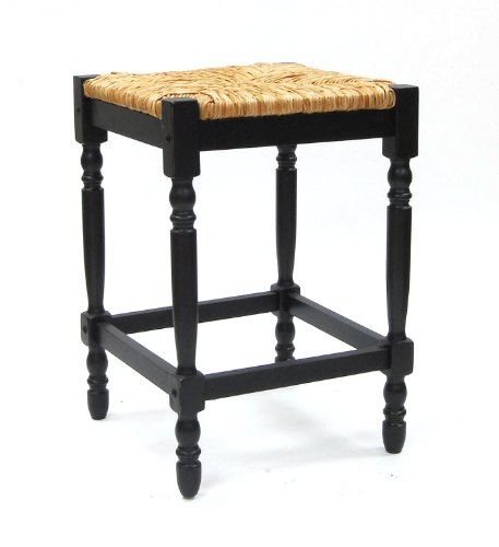 Carolina Classic Hawthorne Counter Stool, Antique Black