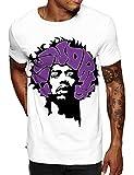 Swag Point Hip Hop T-Shirt - (M, HANDRIX)