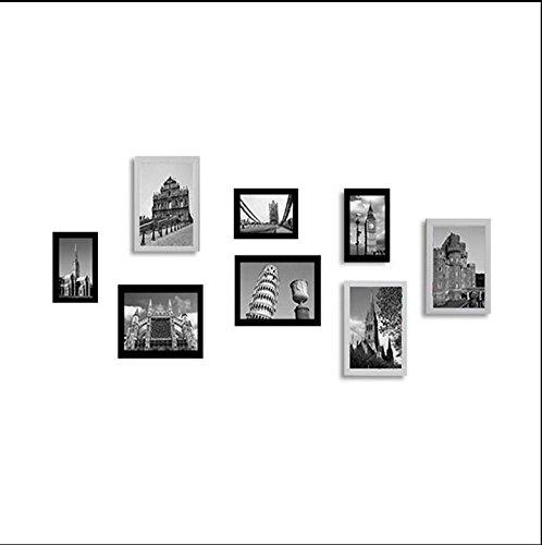 Fotokader 8 Doos Fotobehang Frame Creatief Opknoping Muur Combinatie Slaapkamer Mode Eenvoudige