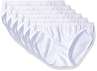 6pk Seamless Womens Underwear 100% Cotton Hanes Bikini Panties For Women Sexy