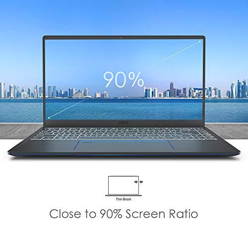 MSI Prestige 14 A10RB-038IN Intel Core i7-10510U 10th Gen 14-inch Laptop(16GB/512GB NVMe SSD/Windows 10 Home/MX250, 2GB Graphics/Grey/1.29Kg )9S7-14C212-038