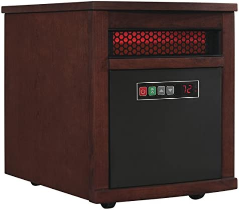 Duraflame 9HM8101 C299 Portable Electric Infrared Quartz Heater Cherry product image