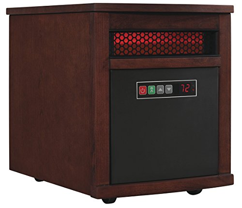 Top Kid Safe Cherry Wood Infrared Space Heater