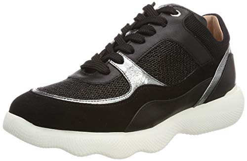 Unisa Damen EIRE_KS_LW Sneaker, Mehrfarbig (Black/Blk Black/Blk), 38 EU