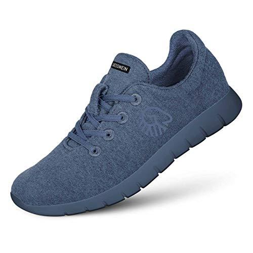 GIESSWEIN Merino Runners Men - Atmungsaktive Sneaker für Herren aus 100% Merino Wolle, Sportliche Schuhe, Halbschuh, Freizeitschuh, Herrenschuhe